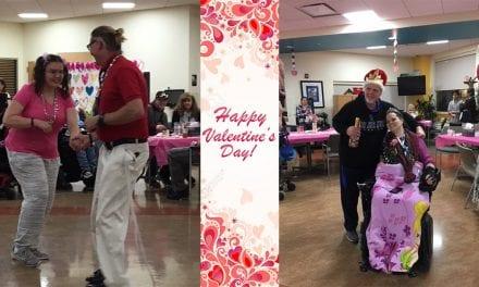 Valentine's Day at the Life Adjustment Program