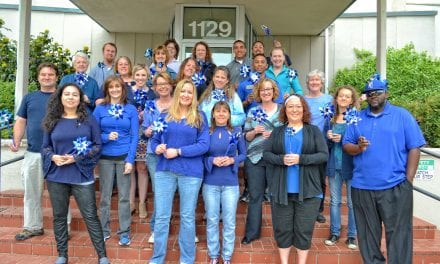 Hilltop's Resource Center Participates in Pinwheels for Prevention