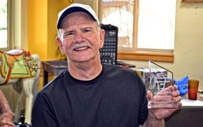 Honoring Leroy Wilcox, Hilltop's Volunteer Mission Award Winner