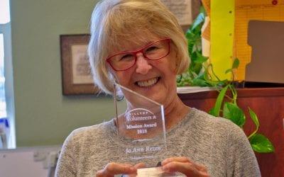 Jo Ann Rezen – Volunteer Mission Award Winner