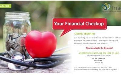 Triad Financial Check Up