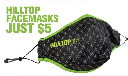 Hilltop Facemasks Now Available To Purchase