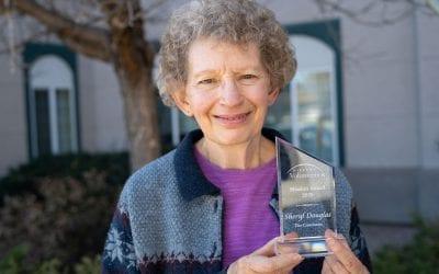 Sheryl Douglas Volunteer Mission Award Recipient
