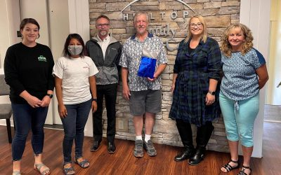 Wayne Klahn Volunteer Mission Award Recipient