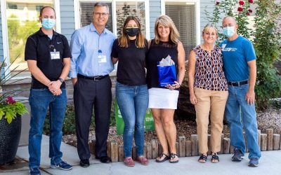 Carrie Gumber Volunteer Mission Award Recipient
